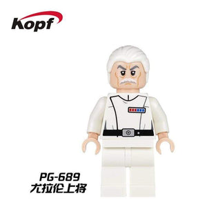 Oiko Store  PG689 Without Box Building Blocks Wars Bricks Darth Vader Yoda Rey PoE Dameron Mandalorian Jango Fett Drabatan Figures For Children Toys KF6111