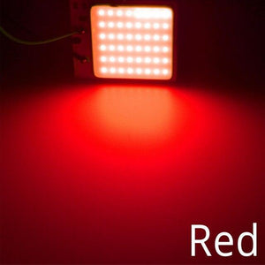 Oiko Store  Red / 16Led White Red Blue T10 W5w Cob 24SMD 36SMD Car Led Vehicle Panel Lamp Auto Interior Reading Lamp Bulb Light Dome Festoon BA9S DC 12v