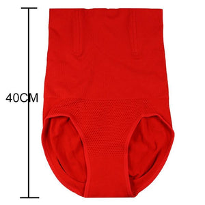 Oiko Store  Red / 4XL Seamless Women Shapers High Waist Slimming Tummy Control Knickers Pants Pantie Briefs Magic Body Shapewear Lady Corset Underwear