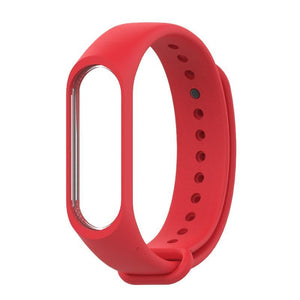 Oiko Store  red / for mi band 3 Bracelet for Xiaomi Mi Band 4 3 Sport Strap watch Silicone wrist strap For xiaomi mi band 3 4 accessories Miband 3 4 Strap