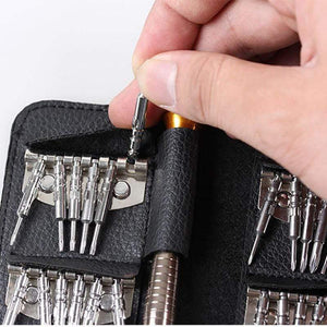 Oiko Store  Screwdriver Set 25 In 1 Torx Multifunctional Opening Repair Tool Set Precision Screwdriver For Phones Tablet PC (25 in 1)