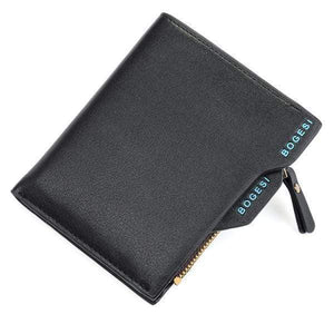 Oiko Store Small size Black 836 Men Wallet Bogesi 836