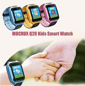 Oiko Store  Smartwatch MOCRUX Q528 GPS Smart Watch With Camera Flashlight Baby Watch SOS Call Location Device Tracker for Kid Safe PK Q100 Q90 Q60 Q50