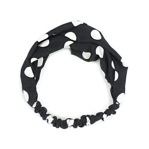 Oiko Store  Style 12 black Women Spring Autumn Suede Headband Vintage Cross Knot Elastic Hair Bands Soft Solid Girls Hairband Hair Accessories
