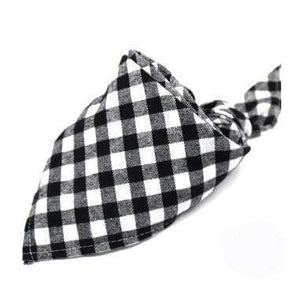 Oiko Store  the same the picture 8 / M Dog Bandana Cotton Plaid Washable Winter Pet Dog Bandanas Scarf Bow ties Collar Cat Small Middle Large Dog Grooming Products