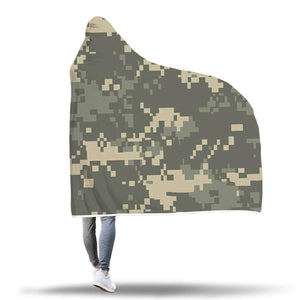 wc-fulfillment Hooded Blanket Awesome Camo Hooded Blanket