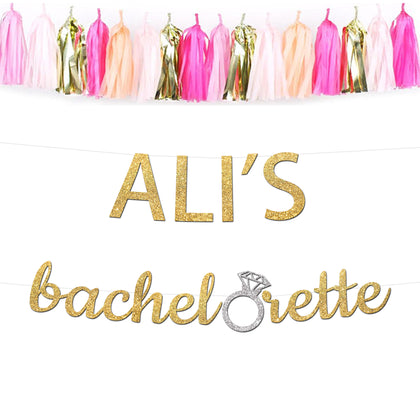 Bachelorette Party Banners