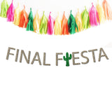Final Fiesta Bachelorette Party Banner