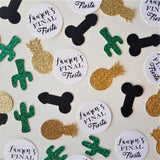Final Fiesta Custom Bachelorette Party Penis Confetti
