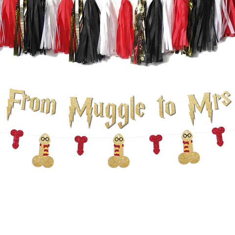 From Muggle to Mrs Bachelorette Party Banner