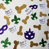 New Orleans Bachelorette Party Custom Confetti