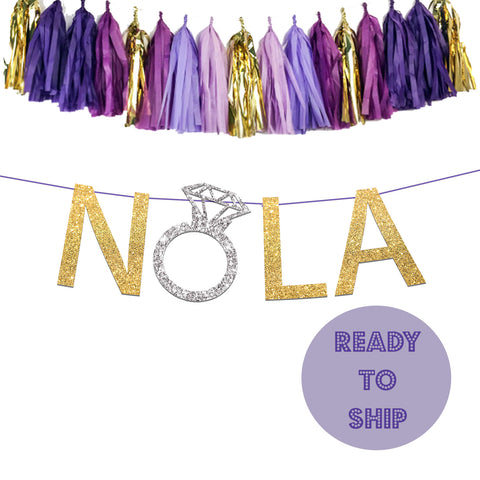 NOLA Bachelorette Engagement Ring Banner