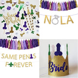 New Orleans Bachelorette Party Straws