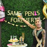 Same Penis Forever Bachelorette Party Banner