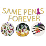 Same Penis Forever Bachelorette Party Rainbow Package