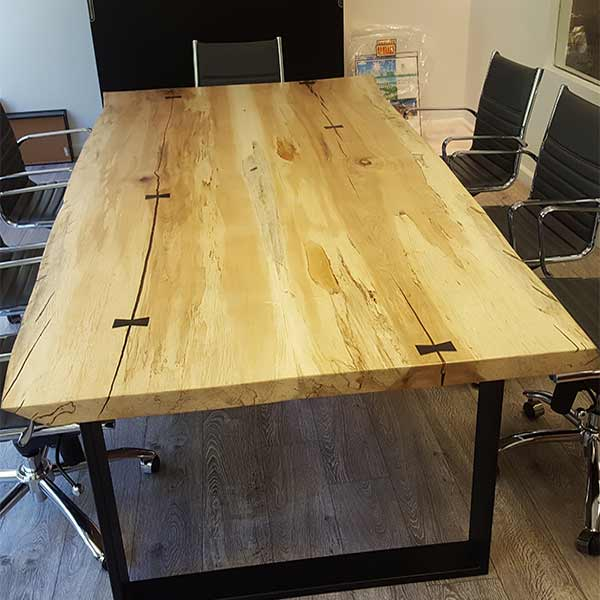 Spalted Maple Conference Table