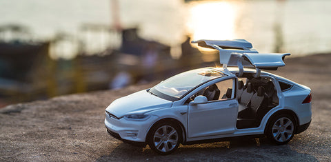 Tesla Toy Car RC City