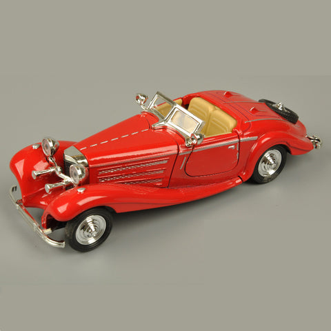 Image of Collectible Old Model Benz 500K Replica