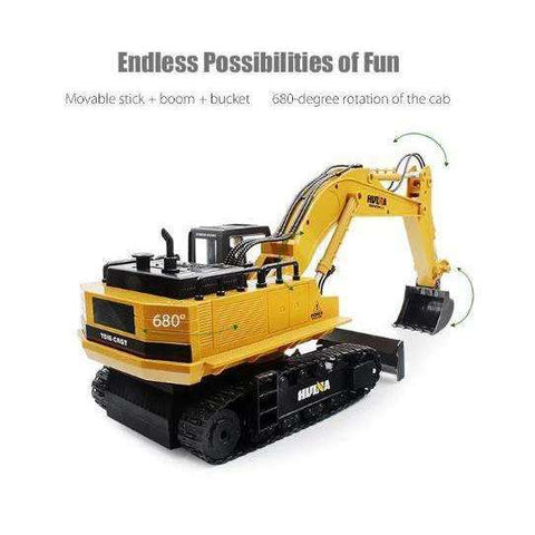 15 CH 1510 RC RTR Excavator