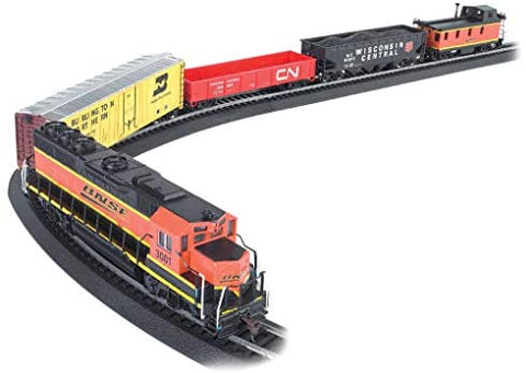 Image of Bachmann Trains- Rail Chief Ready To Run 130 Piece Electric Train Set