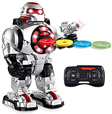 Image of Latest 2019 Model RoboShooter Remote Control Robot Toy For Boys and Girls