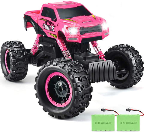 Image of DOUBLE E RC Cars Newest 1:12 Scale Remote Control Car with Two Rechargeable Batteries and Dual Motors Off Road RC Trucks,High Speed Racing Car for Kids