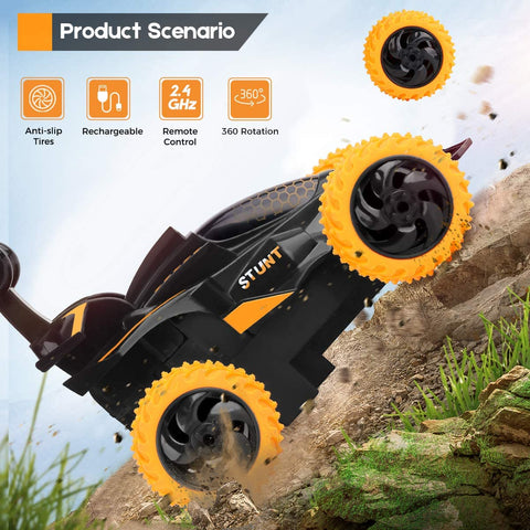 Image of Remote Control The Stunt Car Kids Toy