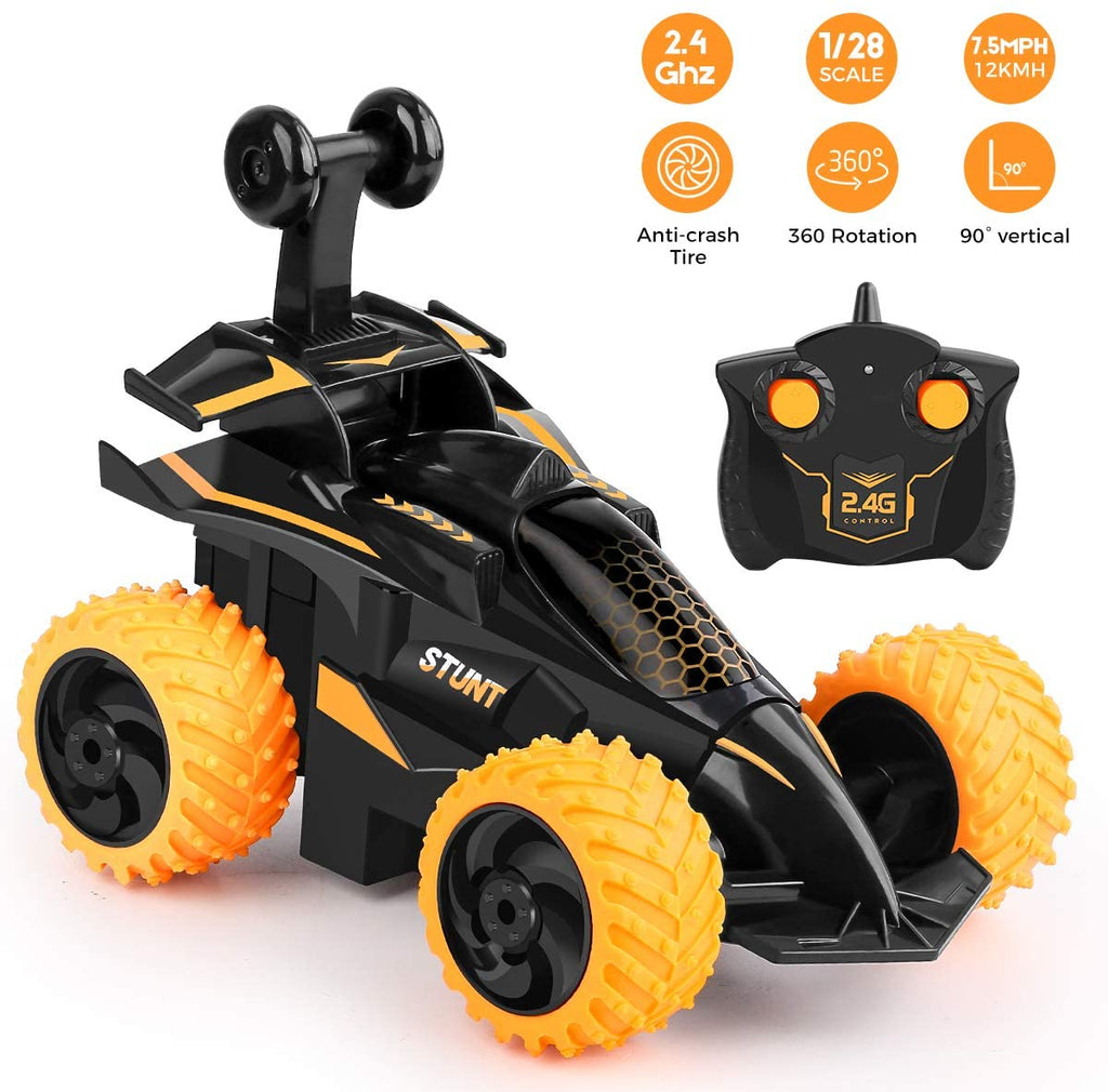 Remote Control The Stunt Car Kids Toy