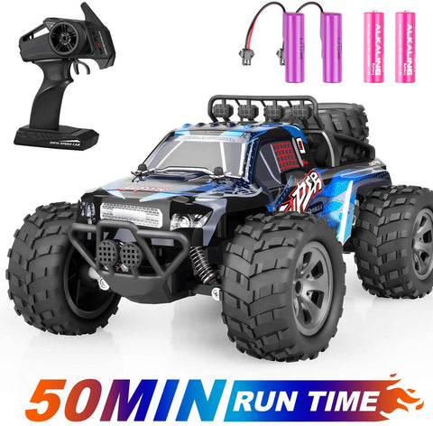 Image of Remote Control Car, ZIPOUTE RC Car 2.4GHZ High Speed Fast RC Racing Car Toys, Off Road Radio Control Cars for Boys, Remote Control Monster Trucks RC Rock Crawler Toy Gifts Kids Toy Cars for Boys Girls