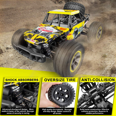 Image of Enoz Flash Off-Road Monster Truck RC