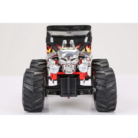 Image of New Bright 1:14 Scale Radio Controlled Hot Wheels Bone Shaker Monster Truck 2.4GHz
