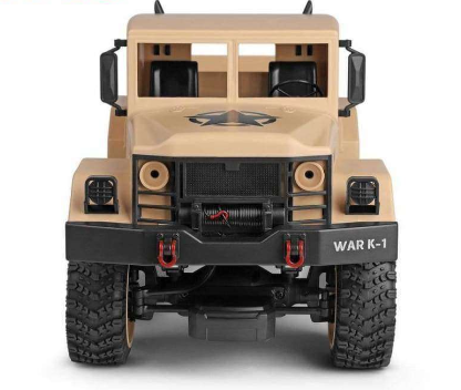 Image of 4WD Off-Road Military Based Transport Truck
