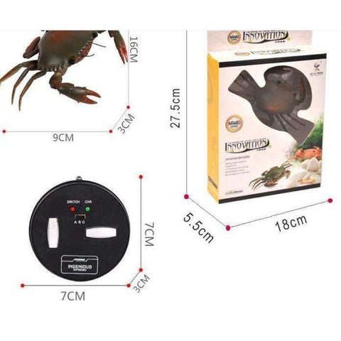 Image of Crawling Remote Control Crab Toy