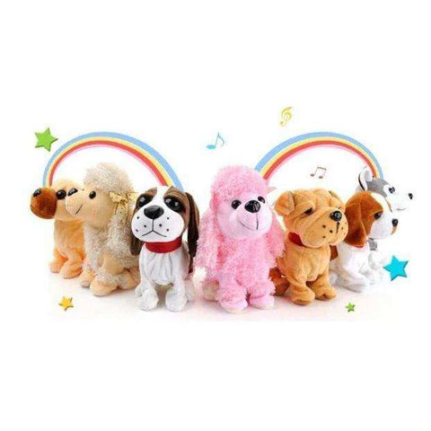 Image of Puppy Interactive Funny Robot Dog Plush