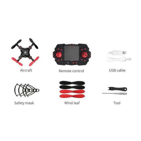 Image of Mini Nano Foldable Pocket Quadcopter (Beginners)
