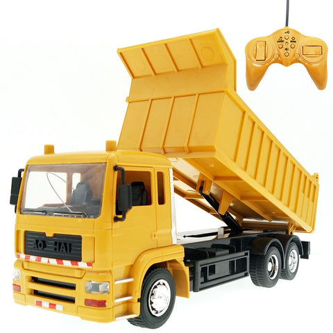 Image of RC Engineering Dump Truck model Transporter Toy for Kids