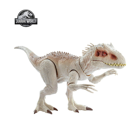 Image of Jurassic World Tyrannosaurus Rex Toy With Biting Movements And Ferocious Sound Effects Kids Toy