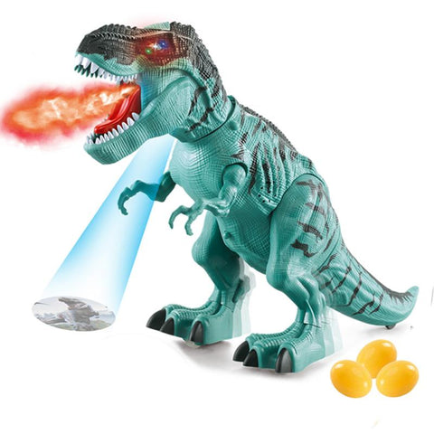 Image of Tyrannosaurus Rex Electric Walking Dinosaur Animal Toy For Kids