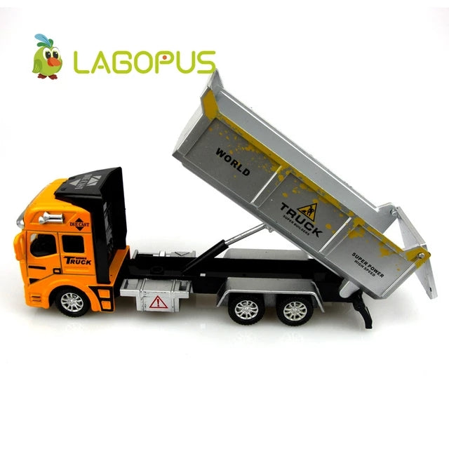 Miniature Model Pull Back Construction Trucks