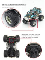 Electric-Powered Off-Road Hummer RC