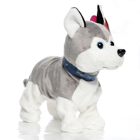 Electronic Remote Control Robotic Toy Dog Husky For Kids