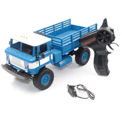 DIY RC Climbing Military Off-Road RC Blue Devil Truck