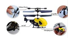 Portable Mini Micro Gyro RC Helicopter