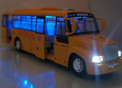 School Style Four Door Model Bus