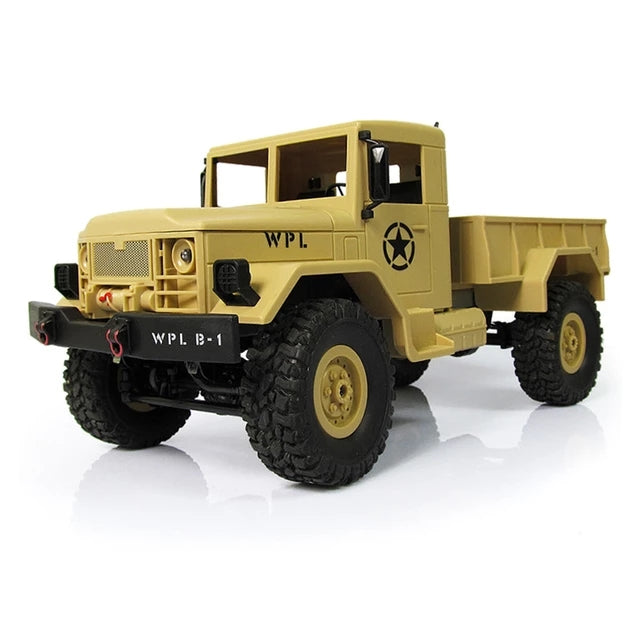 Off Road RC Military Rock Crawler Truck