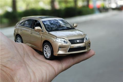 Image of Lexus RX450 Alloy Pullback Model Car