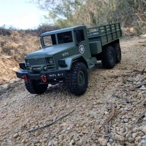 Image of Off Road RC Military Rock Crawler Truck