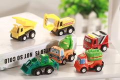 Toy Tractor Set 6pcs Children