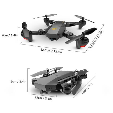 Image of Foldable H47 Mosquito RC Camera Drone