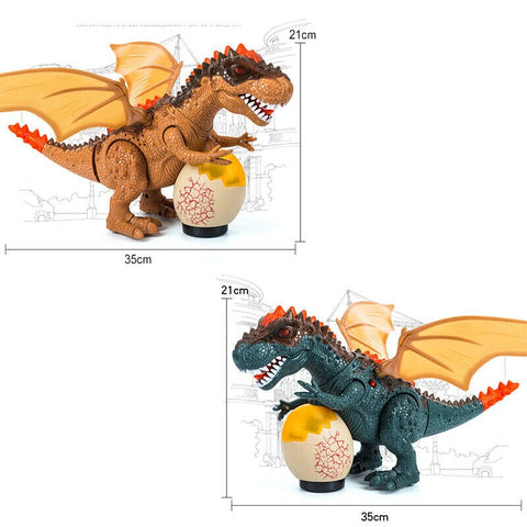 Electric Walking Tyrannosaurus Rex Dinosaur With Light And Sound Toys For Kids